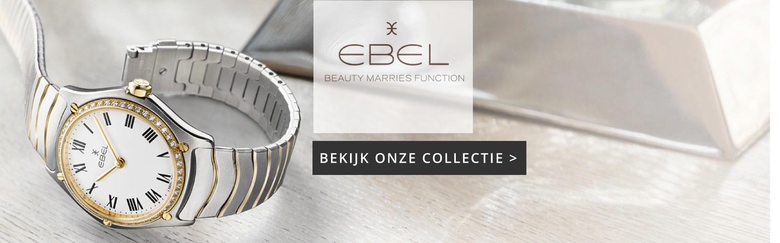 EBEL horloge koop je bij Wolters Juweliers Coevorden-Emmen-Hardenberg-Hoogeveen. De EBEL SPORT CLASSIC is de topper.