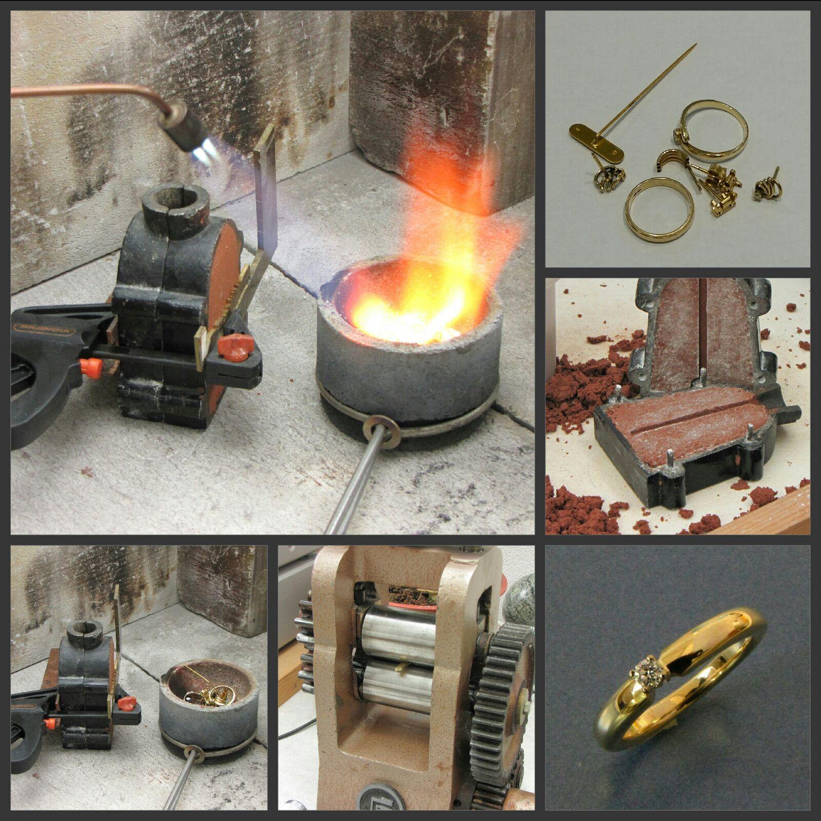 van 'oud goud' een sieraad naar wens Wolters Juweliers Coevorden Emmen Hardenberg