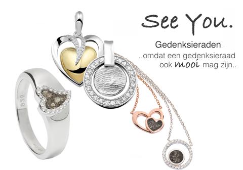 See You Gedenksieraden Wolters Juweliers Coevorden Emmen