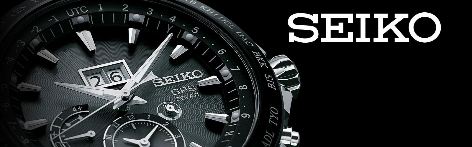 Seiko horloges koop je bij Wolters Juweliers Coevorden Emmen ook dealer voor Hardenberg en Hoogeveen.