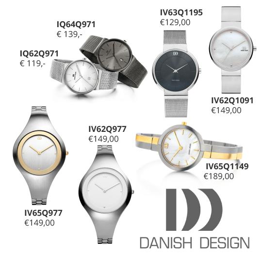 DANISH-design-horloges-bij-Wolters-Juweliers Emmen Coevorden