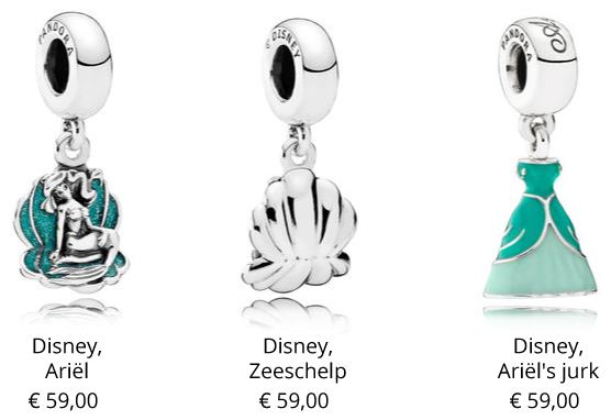 Pandora-Disney-Ariel-de-kleine-zeemeermin-bedels-en-charms-verkrijgbaar-bij-Woltes-Juweliers-Coevorden-Emmen